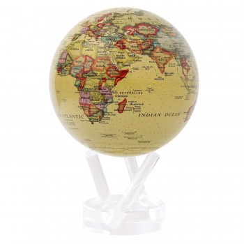 "Globe 4.5"" Mova Antique Beige"