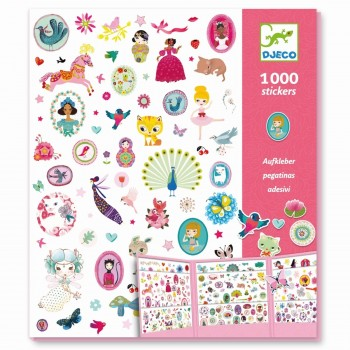 1000 stickers Djeco Sweet