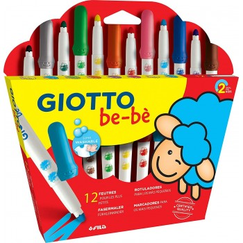 12 feutres Giotto be-bè Maxi