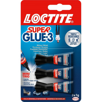 Colle super glue 3x1g...