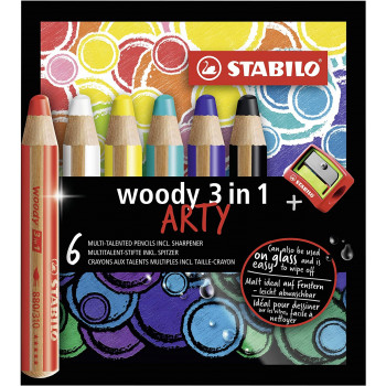 6 Crayons couleur Stabilo...