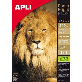 Papier photo brillant 240g...