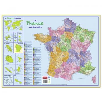 Sous-main Carte France...